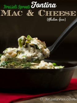 Brussels Sprouts Fontina Mac