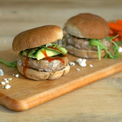 Buffalo Turkey Blue Cheese Sliders Recipe