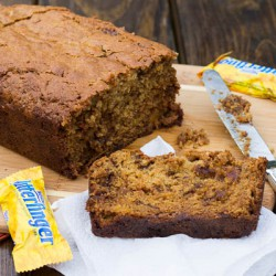 Butterfinger Sweet Potato Bread