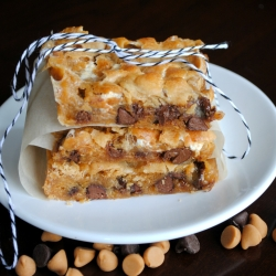Butterscotch Marshmallow Bars