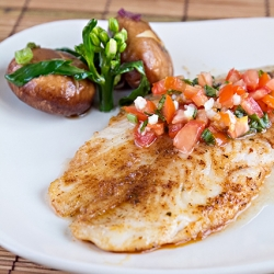 Cajun Pan-Fried Fish