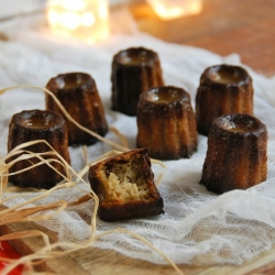 Canneles Bordelais French Bordeaux Cookies Recipe