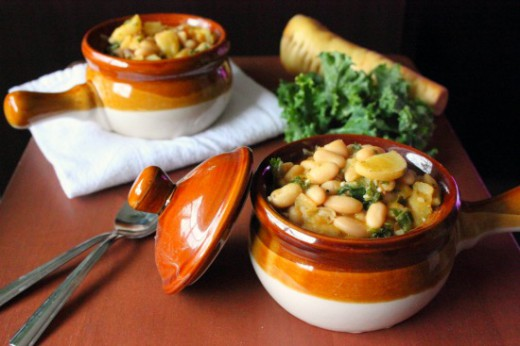 Cannellini Beans Kale Soup Recipe