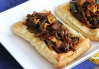 Caramelized Onion Pancetta Tart