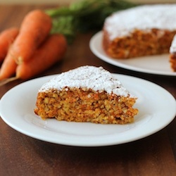 Carrot and Almond Cake Recipe
