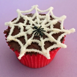 Charlotte's Web Cupcakes