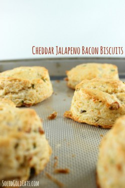 Cheddar Jalapeno Bacon Biscuits Recipe