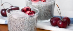 Cherry Chia Seed Pudding Recipe