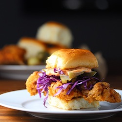 Chicken Sliders with Pimenton Aioli Recipe