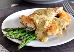 Chicken with Mustard-Thyme Sauce