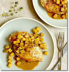 Chicken with Sherry Pan Sauce