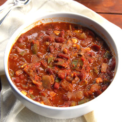 Chili Vegan Slow Cooker Recipe