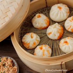 Chinese Steamed Buns with Tofu Recipe
