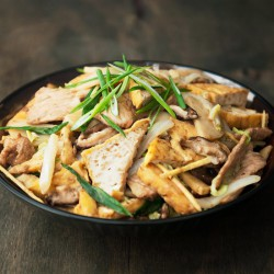 Chinese Stir-Fried Tofu