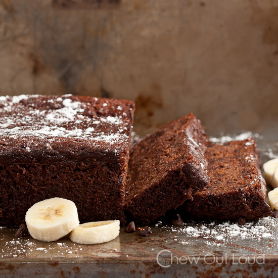 Chocolate Banana Yogurt Bread
