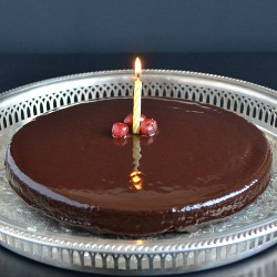 Chocolate Cake with Ganache