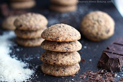 Chocolate Coconut Cookies