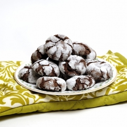 Chocolate Mocha Crinkle Cookies Recipe