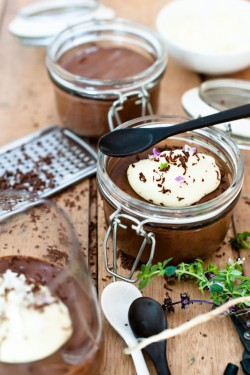 Chocolate Mousse with Creme de Cacao Blanc Recipe