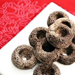 Chocolate-Cinnamon Cake Donuts
