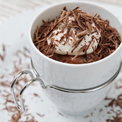 Chocolate–Cognac mousse