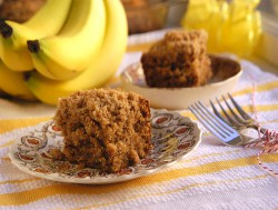 Cinnamon Streusel Banana Coffee Cake Recipe
