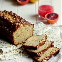 Citrus Almond Loaf Cake Recipe