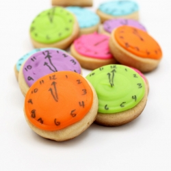 Clock Cookie Bites