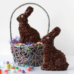 Cocoa Krispies Easter Bunny Treats