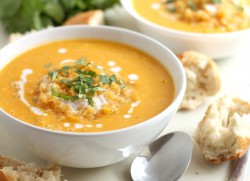 Coconut Butternut Squash Soup Recipe