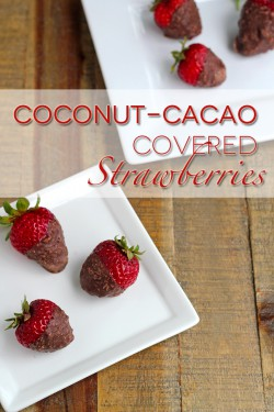 Coconut Cacao Strawberries