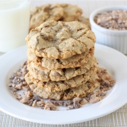 Coconut Toffee Cookies
