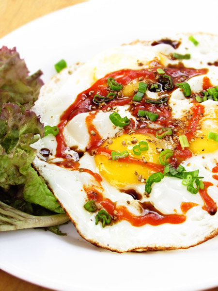 Comforting Fried Eggs