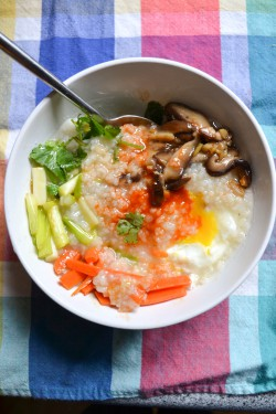 Congee with Vegetables