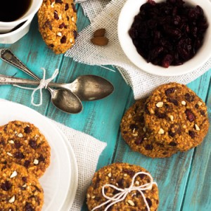 Cranberry Almond Breakfast Cookies Recipe