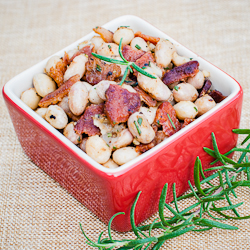 Cranberry Beans w/Rosemary