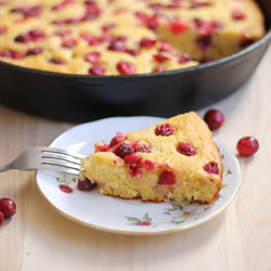 Cranberry Cornmeal Cake Recipe