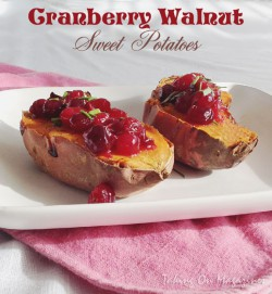 Cranberry Walnut Sweet Potatoes Recipe