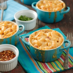 Creamy Mexican Macaroni and Cheese