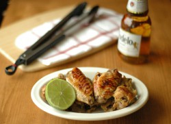 Crockpot Beer Glazed Honey Lime Chicken Wings Recipe
