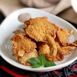 Crumbed Oyster Mushrooms