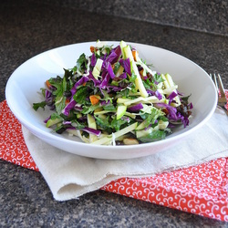 Crunchy Kale and Green Apple Salad