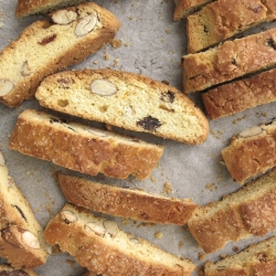 Date Orange Almond Biscotti