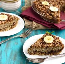 Dates Banana Quinoa Breakfast Bake Recipe