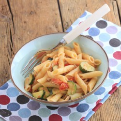 Delicious Penne with Zucchini