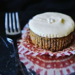 Double Rum and Banana Cupcakes