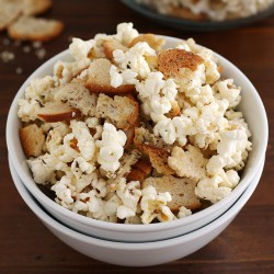 Everything Bagel Popcorn Recipe