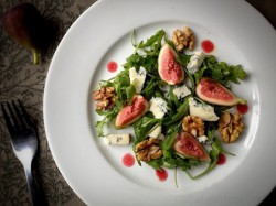Fig Gorgonzola Cheese Salad Recipe