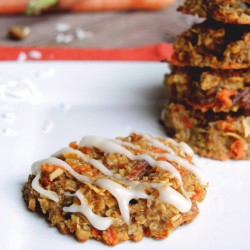 Flourless Carrot Cake Cookies