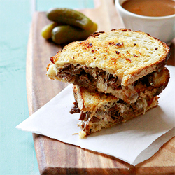 French Dip Panini Slow Cooker